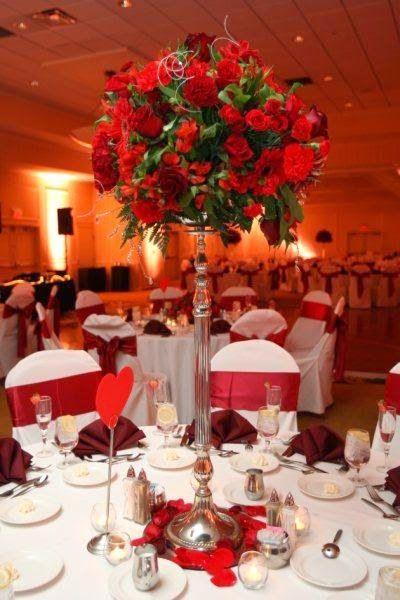 83 best simple wedding centerpieces images on pinterest homemade wedding centerpiece ideas for the budget conscious bride marbles flowers http junglespirit Choice Image