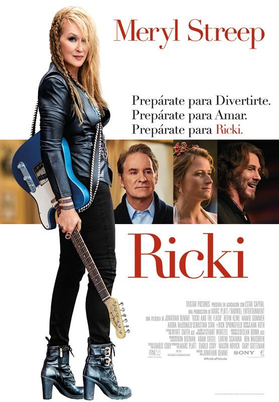 RICKI, dirigida per Jonathan Demme. Speak up Movies, 2016.
