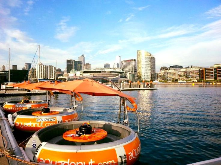 We've just discovered all the things you didn't know you could do in Melbourne—from floating donut BBQs to a pink lake. Prepare yourselves.