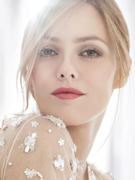 Eyes and lips, for me, i would want the eyes very slightly more enhanced and lips slightly more subdued, but looks amazing on the model as is