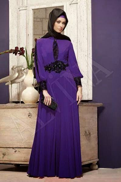 Robe de soiree femme voilee