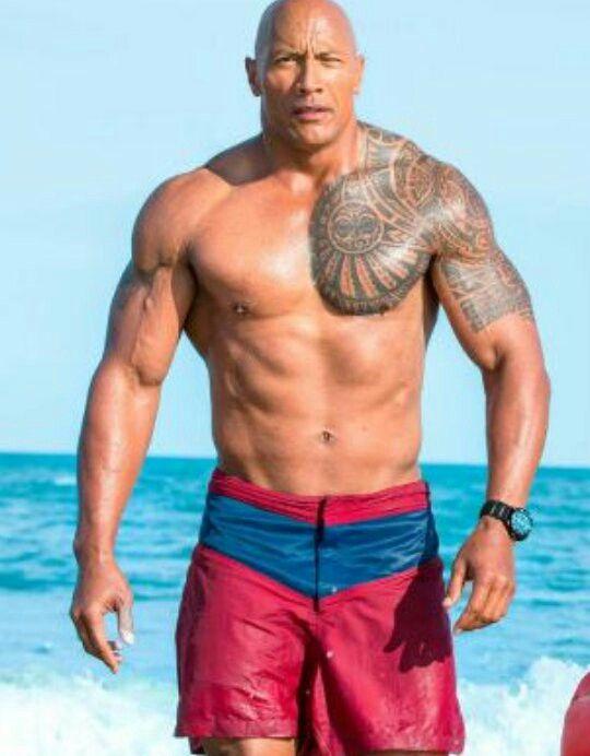 """Dwayne """" The Rock"""" Johnson"""