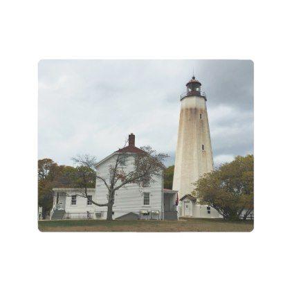 Sandy Hook Lighthouse Metal Print - romantic gifts ideas love beautiful