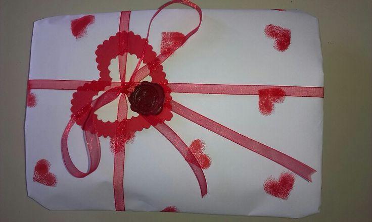 Ed ecco pronto un bel pacco regalo x San Valentino:-)