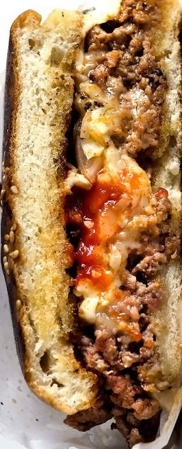 SRIRA-CHOPPED CHEESE | Lady and Pups – an angry food blog