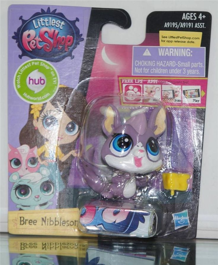 NEW LPS LITTLEST PET SHOP 2014 BREE NIBBLESON HUB TV A9195 HASBRO COLLECTORS TOY #Hasbro  Check out boundlessbargains.com for more great deals.