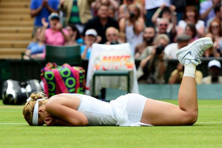 Sabine Lisicki @JugamosTenis #tennis #tenis #Wimbledon