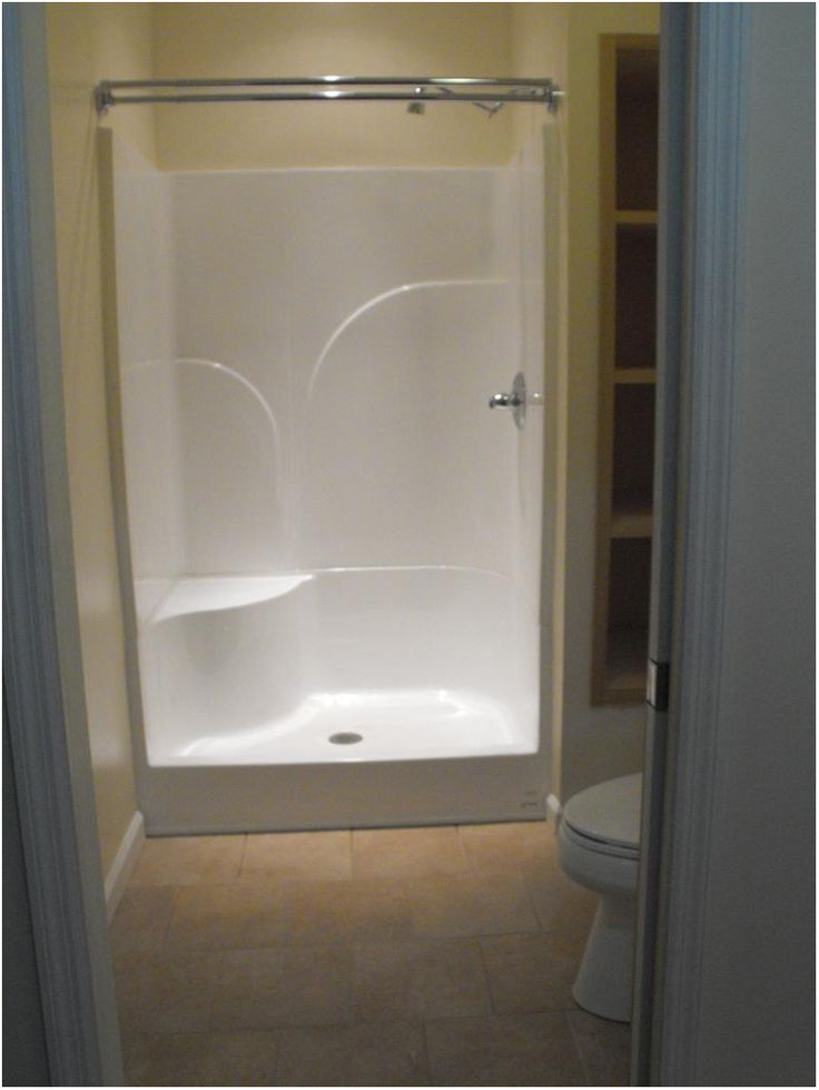 Best 25 small shower stalls ideas on pinterest small for Small 4 piece bathroom