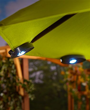 Solar Umbrella Clip Lights Delectable 8 Best Front Garden And Steps Images On Pinterest  Arquitetura Design Inspiration