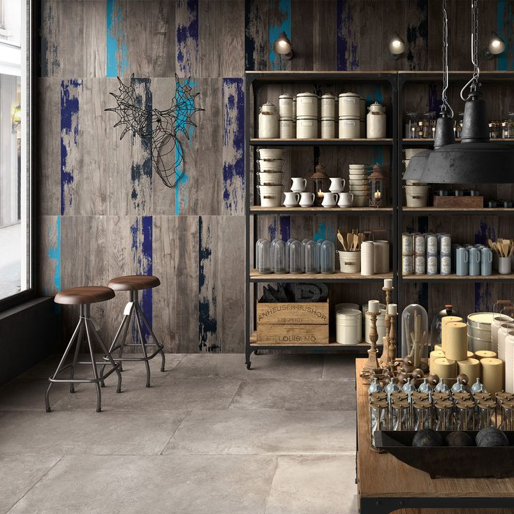 Cool Kitchen Dining Area Design Rustic Hipster Style