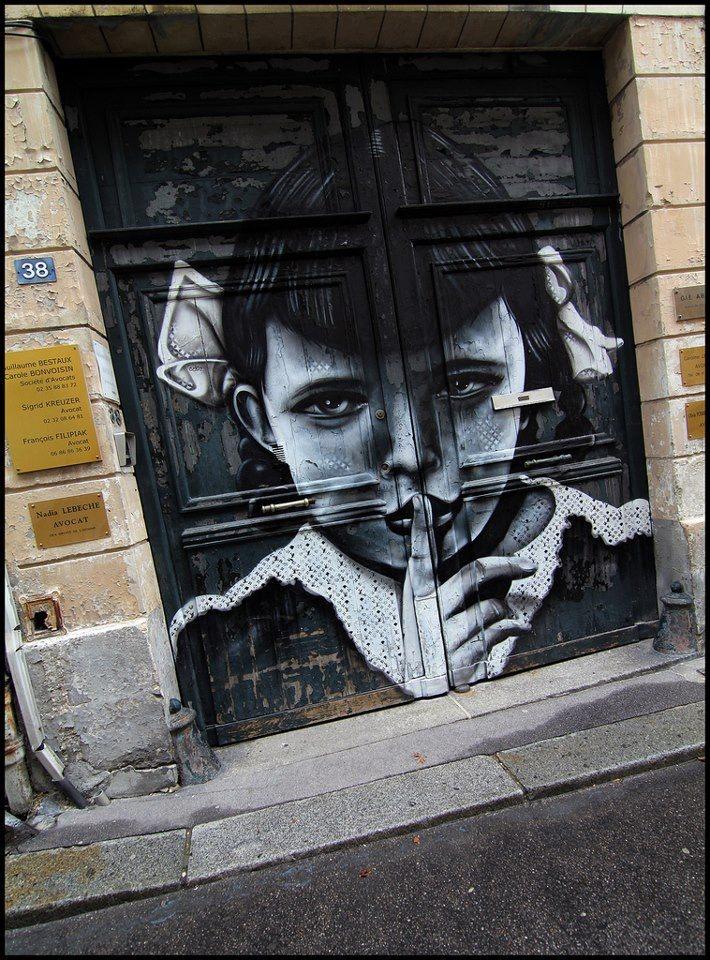 art door..