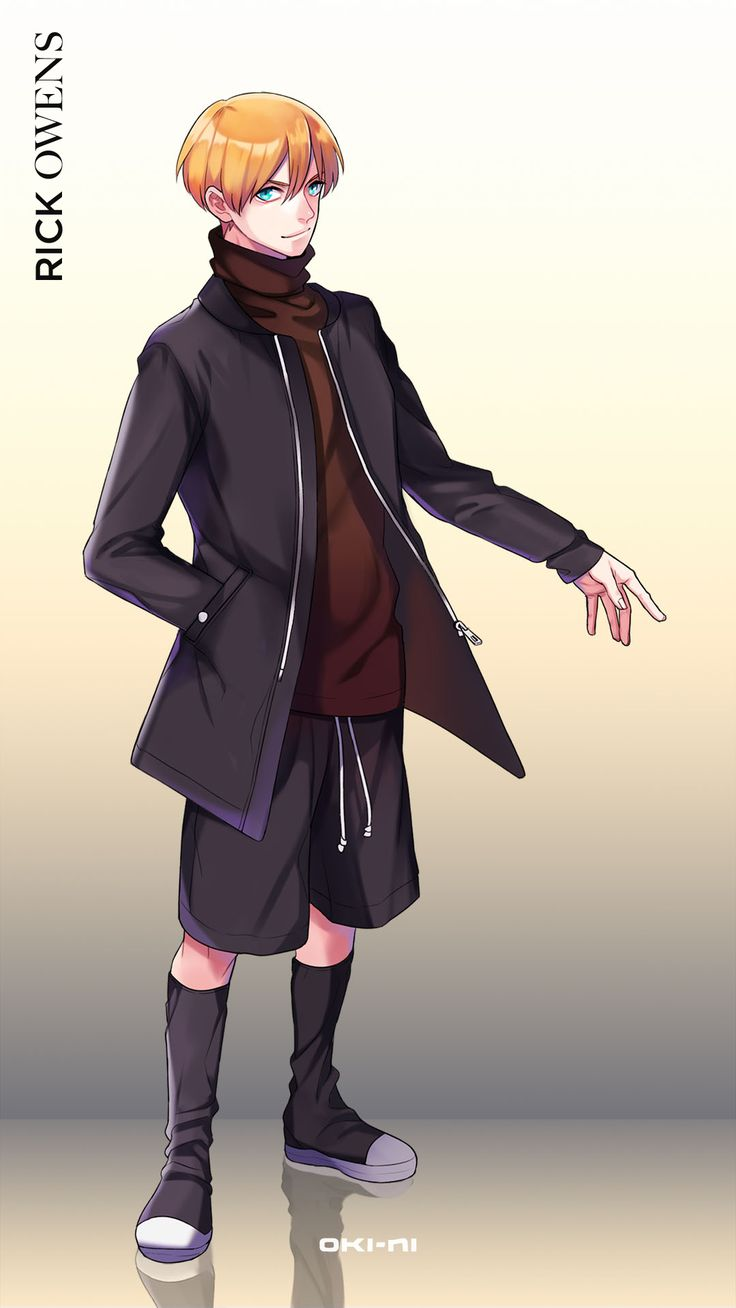 The recent hype surrounding the Pokemon Go app got us wondering... what would our avatars look like wearing our favourite designers? Here's Rick Owens AW16, anime style.