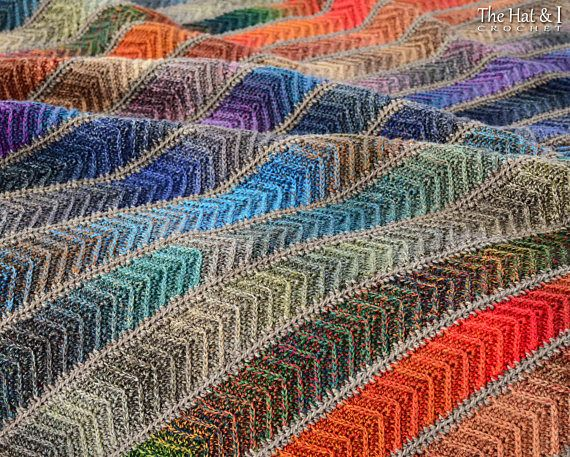 CROCHET PATTERN Super Fine Sampler crochet blanket
