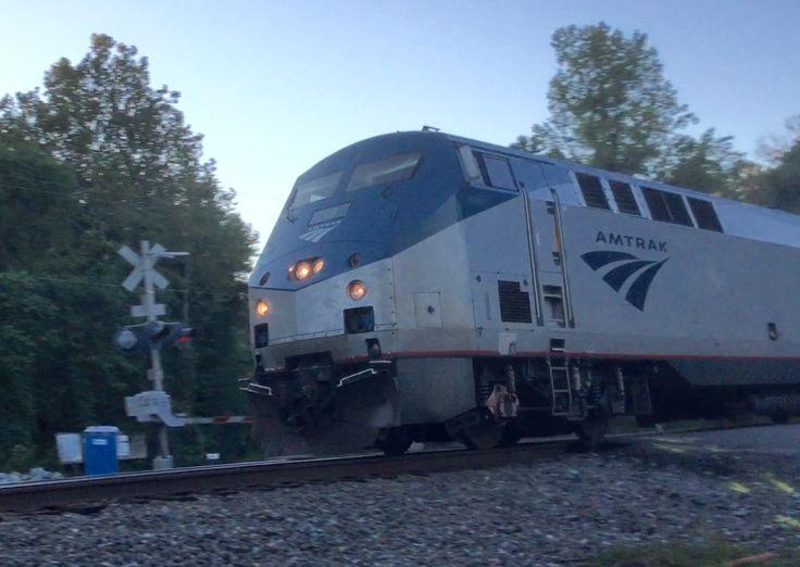 Amtrak #18 at Cherry Hill, Dumfries, Va. Photo by Kathy Fite Simon 9/27/16.
