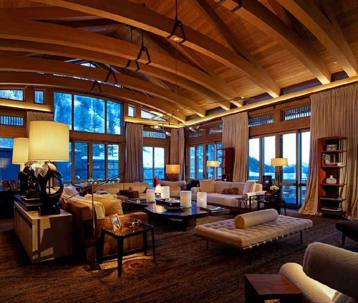The office of thierry w despont ltd ski house for Aspen interior design firms