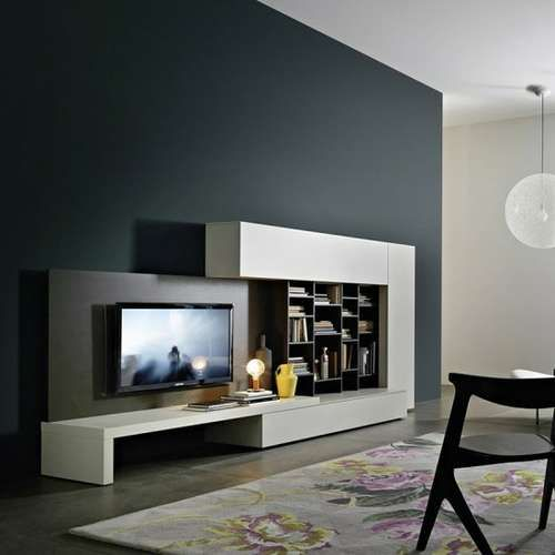 Sleek tv unit design for living room google search tv for Bedroom designs with tv unit