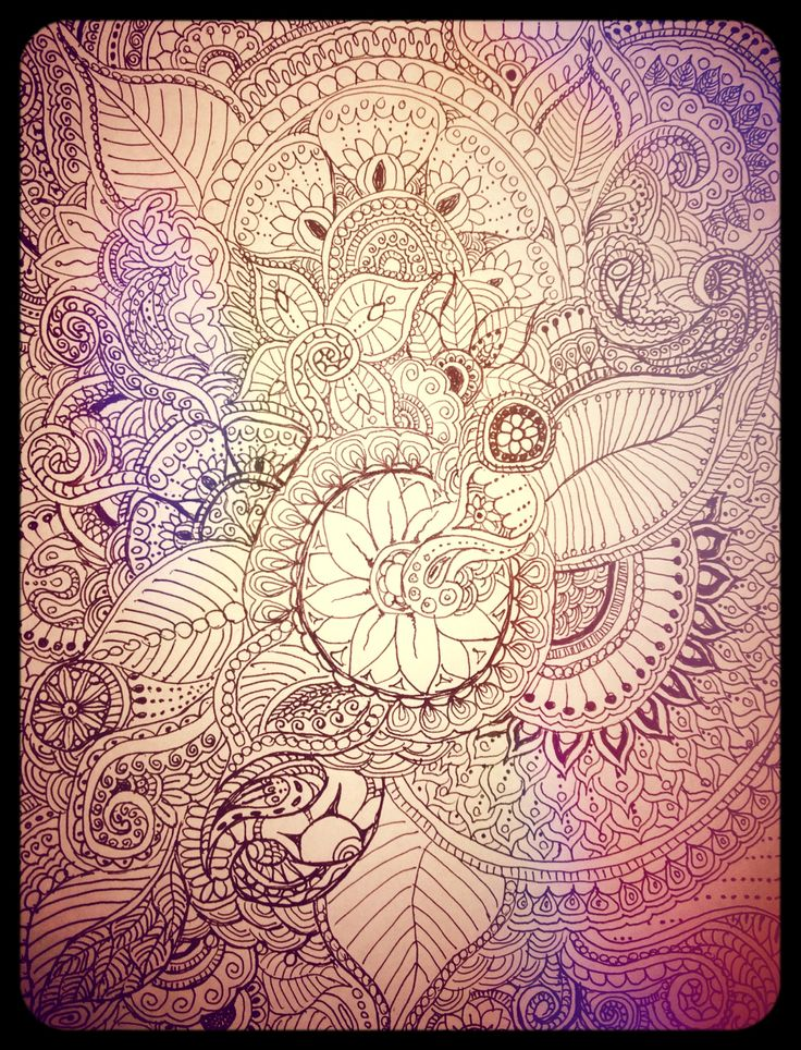 Boho art/zentangle | Hena/zentangle | Pinterest | Boho