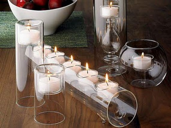 DECORATING WITH CANDLES Candles have transformed from being a necessary light source to adding character to your decor. In today's market, candles comes in a variety of colors, sizes, shapes, scents, waxes and oils.  This is an easy an inexpensive way to decorate with out breaking your bank account.  Here are a few tips to help you create a stunning and aromatic candle display in your home.