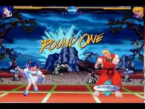 Akari-KOF-98 (AI) (ohgaki) vs Ken-SF3 (AI) (GM)