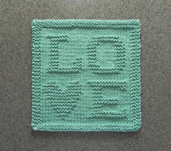 145 Best Dishcloth Patterns Letters Numbers Images On Pinterest