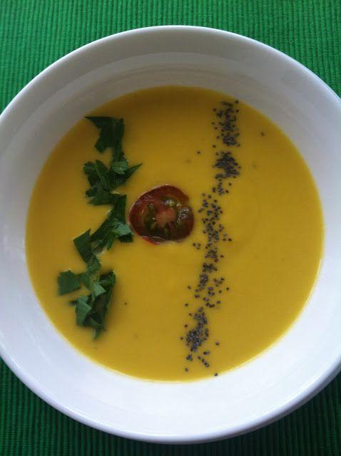 Las recetas de Martuka: Crema Fría De Zanahorias, Jengibre Y Leche De Coco