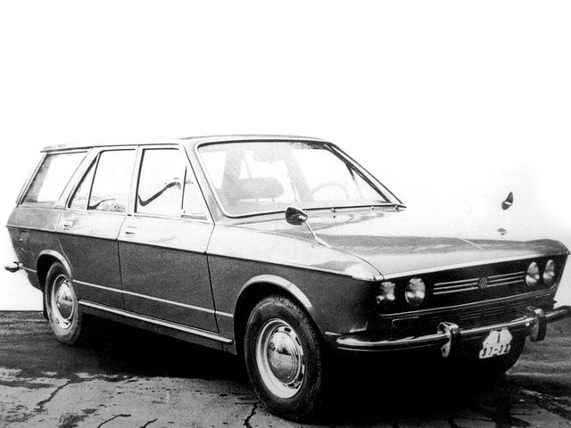 1972 Škoda Type 720 AD-4 Prototype