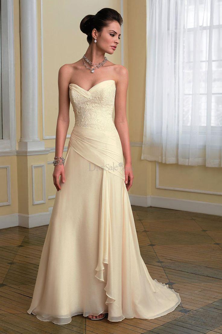 25 Best Ideas About Yellow Wedding Dresses On Pinterest