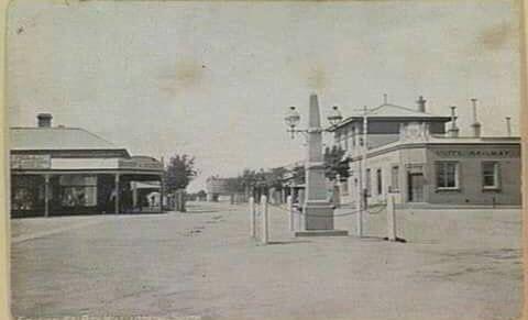 Station Street, Box Hill, 1940s.