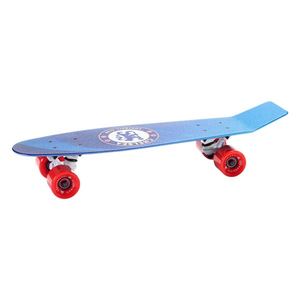 Chelsea Statement Skateboard | $119.99  | Holiday Gift & Stocking Stuffer ideas for the Chelsea FC fan at WorldSoccerShop.com