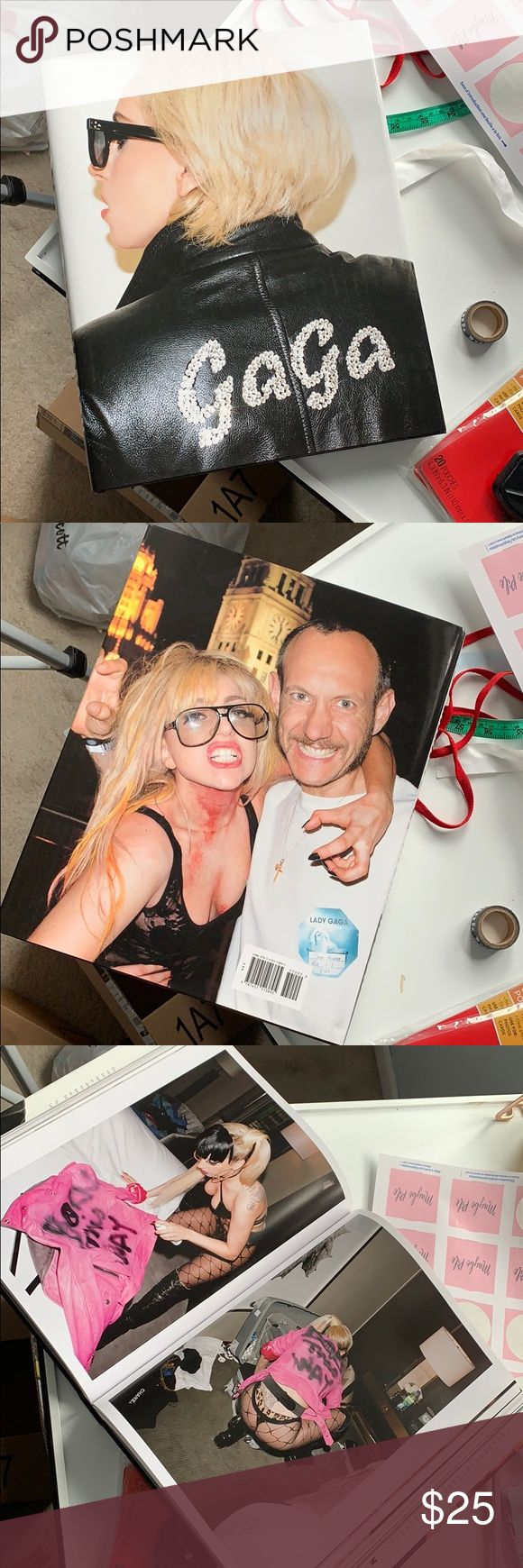 Lady Gaga x Terry Richardson Coffee Table Book Excellent condition; only used for display Accents Coffee Table Books | Terry richardson. Coffee ...