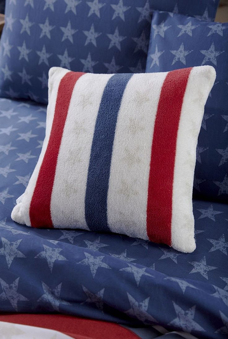 Catherine Lansfield Stars and Stripes Cushion