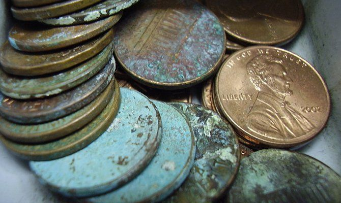 A lot of new coin collectors - and those who don't know much about coins - think it is good to clean coins. It's NOT. Cleaning a coin almost always ruins the coin. Is it ever okay to clean a coin? Yes, there are exceptions to the rule!