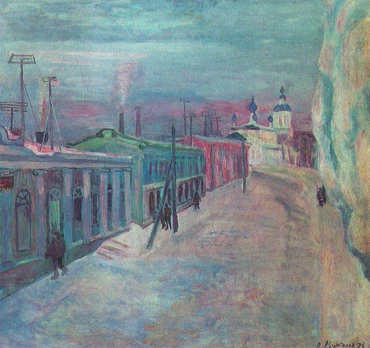 Вуколов Олег Александрович (Россия, 1933) «Торжок» 1974