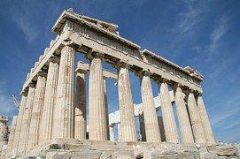 Atenas, Grecia, Acrópolis, Ruinas