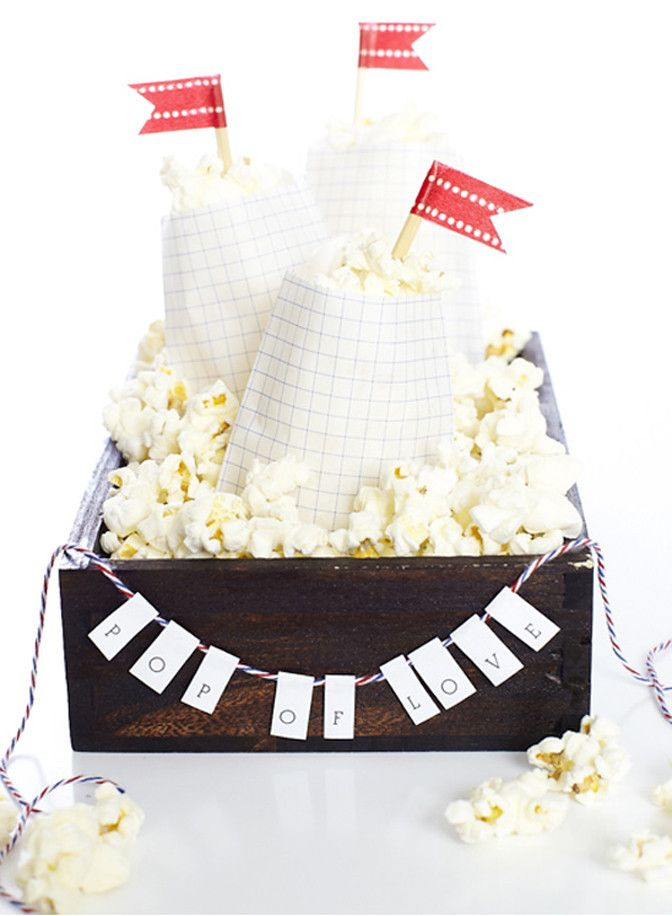 cute display for favors and treats