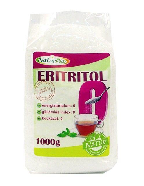 Eritritol - 1000 gr - este un îndulcitor natural. Ca aspect și gust seamănă foarte mult cu zahărul dar fără efecte negative ale acestuia. Este total lipsit de calorii (0 cal/100gr).