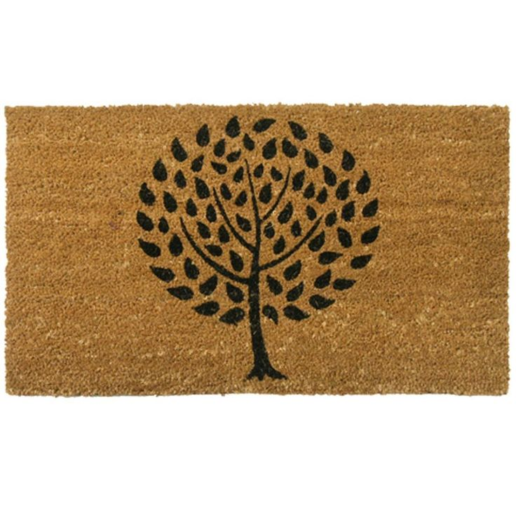 Rubber Cal Modern Landscape Contemporary Door Mat 18 X 30