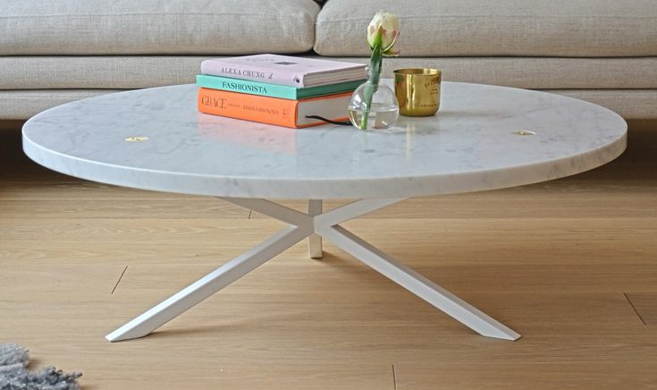 NEB Round Sofa Table in Marble via NoEarlyBirds - Per Söderberg. Click on the image to see more!