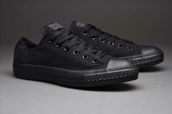 186f55bd17 Mens Shoes - Converse Chuck Taylor All Star Ox - Black Monochrome - M5039C