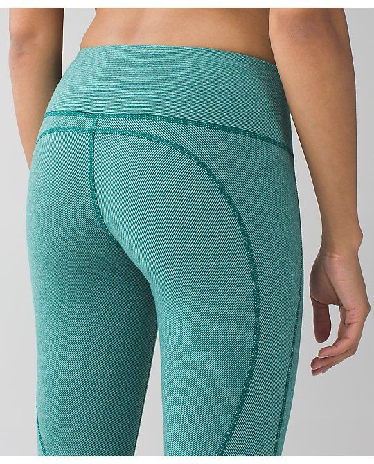 wunder under pant (stripes) *cotton | women's yoga pants | lululemon athletica
