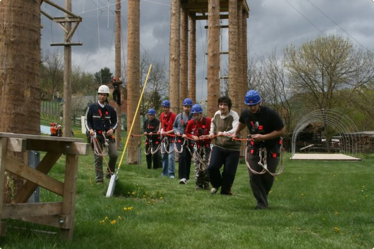 High Ropes Course Team #zagreb #stagdo