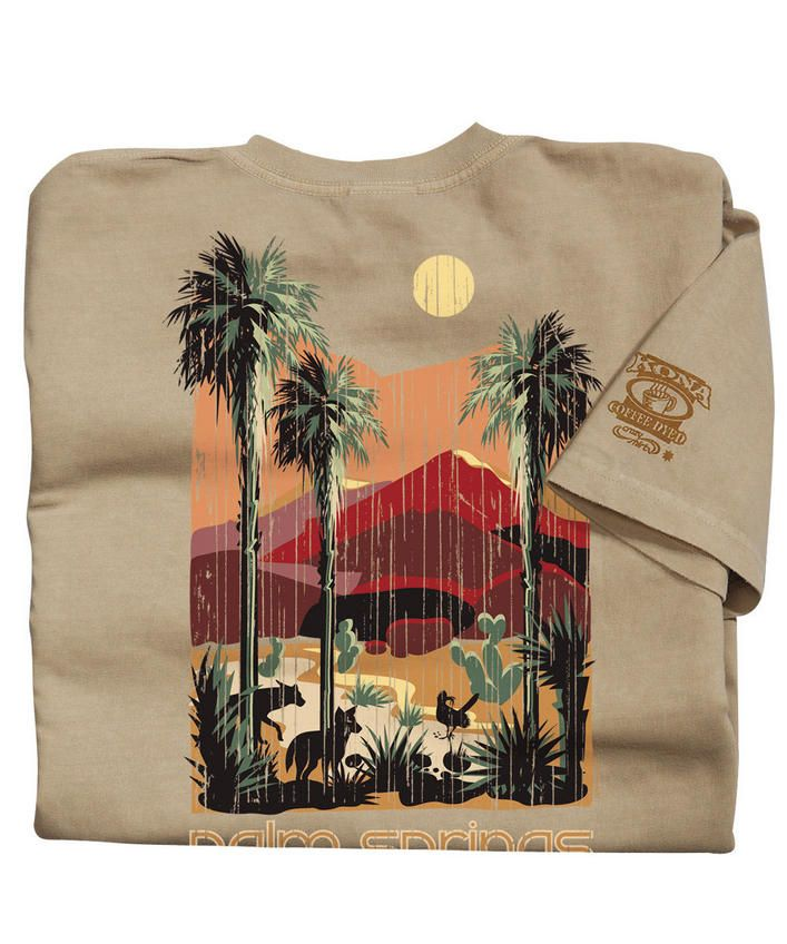 Desert Retreat - Kona Coffee-Dyed The Classic Crew