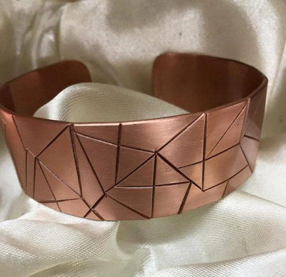 Copper Bracelet by EngravingWorkshop on Etsy