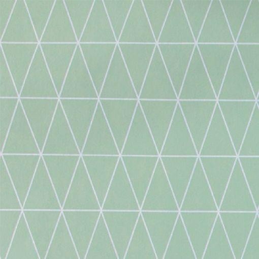Wachstuch Mint Grafisch Muster - STOFF & STIL