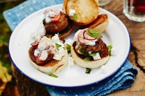 John Quilter's lamb sliders