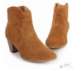 Isabel Marant Dixie Suede Ankle Brown Boots we all love them