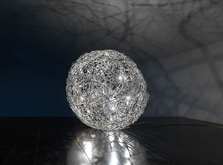23 best catellani smith images on pinterest light design light fil de fer sphere made of natural aluminium wire or anodized in gold colour in different diameters greentooth Choice Image