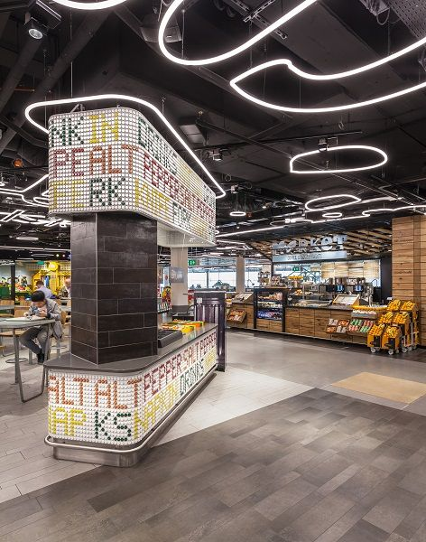 Design showcase: Schipol Airport's new street food-inspired food court - Retail Design World