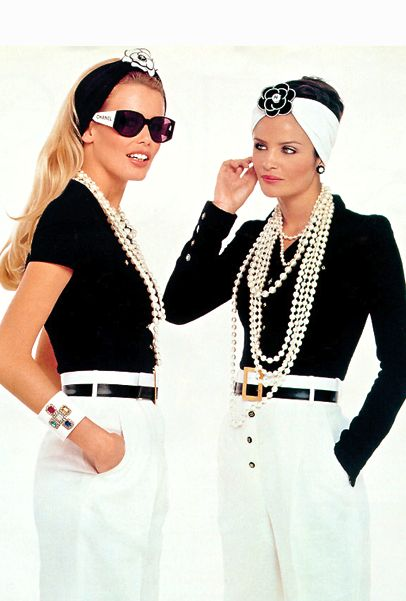 Supers in Chanel.