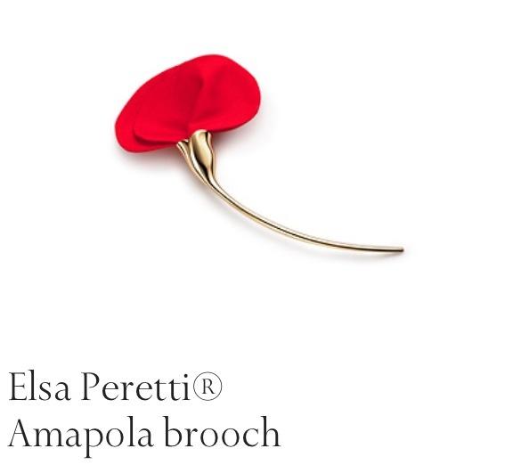 Poppy brooch, Tiffany's.